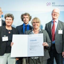 IIP-Ecosphere erfolgreich beim KI-Innovationswettbewerb