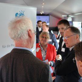 Ministerpräsident Stephan Weil informiert sich über IIP-Ecosphere