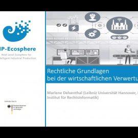 """Vortrag und Networking: IIP-Ecosphere bei Webkonferenz """"Daten und KI-Modelle als Wirtschaftsgut"""""""