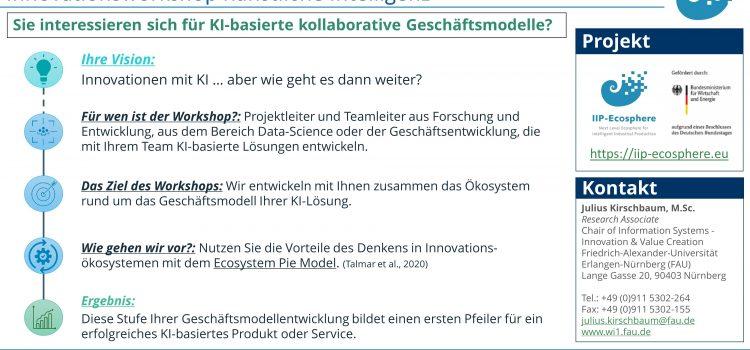 Unser Angebot: KI-Innovationsworkshops